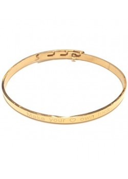 SIZEABLE MESSAGE STAINLESS STEEL BRACELET