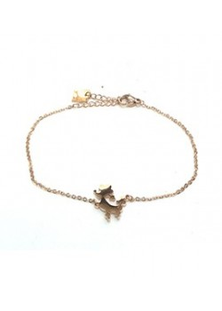 CHIHUAHUA STAINLESS STEEL CHAIN BRACELET