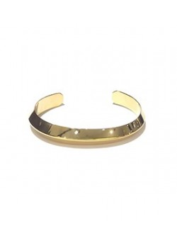 BEVELED STAINLESS STEEL CUFF