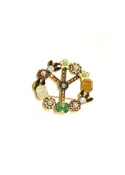 PEACE AND LOVE BROOCH