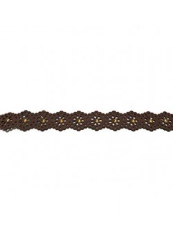 SUEDE LACE CHOKER