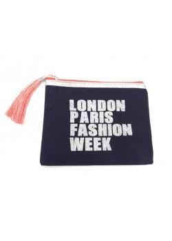 POUCH COTTON: LONDON FASHION WEEK