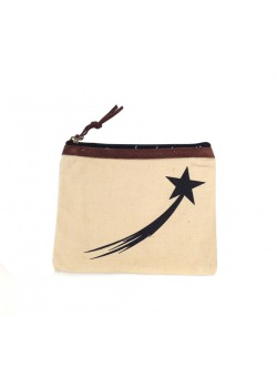 POUCH COTTON: falling star