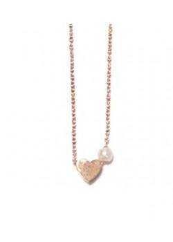 COLLAR HEART + PEARL