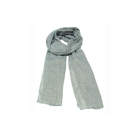 DOTTED COTTON SCARF