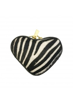 HEART SHAPED LEATHER WALLET