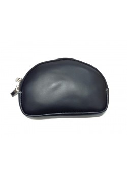 SEMI-ROUNDED SHAPED LEATHER WALLET