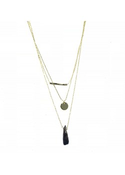 LONG CHAIN CHARM'S CHAIN TASSEL NECKLACE