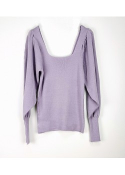 PULL COL ROULE MANCHES COURTES