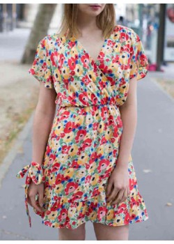 ROBE VINTAGE MOTIF ALL-OVER LIBERTY