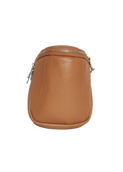 LITTLE LEATHER CROSSBODY POUCH BAG