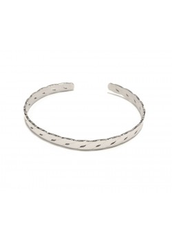 ENGLISH MESH CHAIN SOLID STAINLESS STEEL CUFF